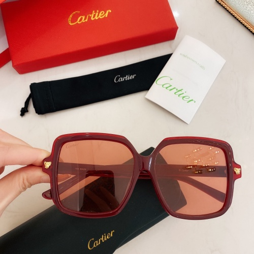 Cartier AAA Quality Sunglasses #860149