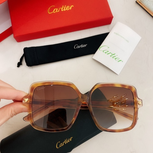 Cartier AAA Quality Sunglasses #860150