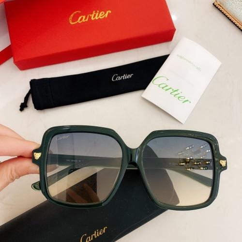 Cartier AAA Quality Sunglasses #860151