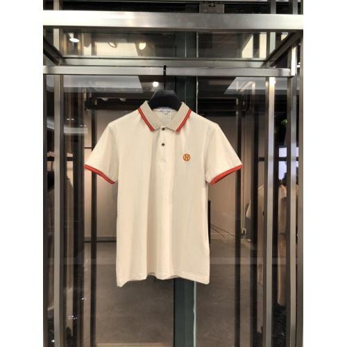Hermes T-Shirts Short Sleeved For Men #860251