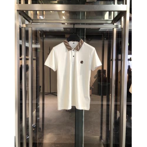 Fendi T-Shirts Short Sleeved For Men #860258