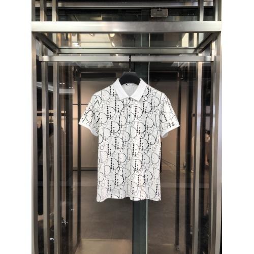 Christian Dior T-Shirts Short Sleeved For Men #860261
