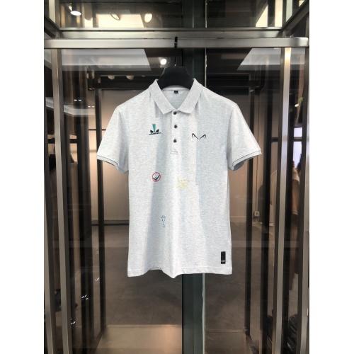 Fendi T-Shirts Short Sleeved For Men #860263