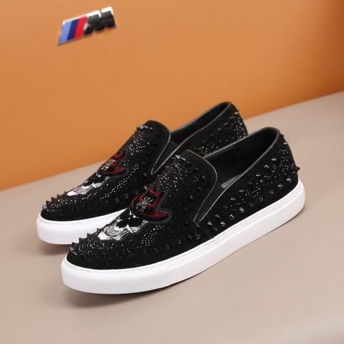 Replica Philipp Plein Shoes For Men #860346 $92.00 USD for Wholesale