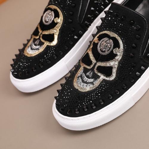 Replica Philipp Plein Shoes For Men #860347 $92.00 USD for Wholesale