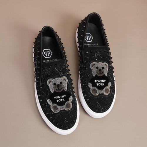 Replica Philipp Plein Shoes For Men #860348 $92.00 USD for Wholesale