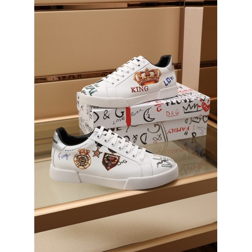 Dolce & Gabbana D&G Casual Shoes For Men #860361