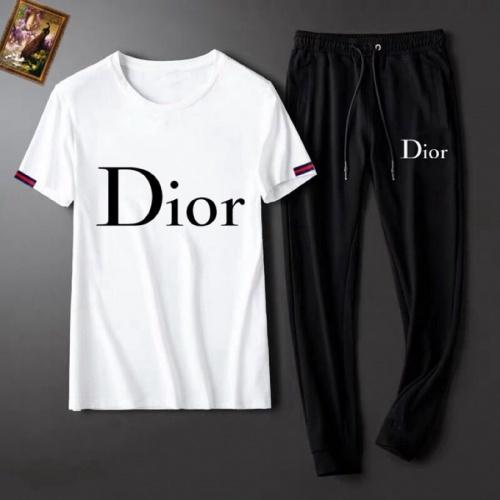 Christian Dior Tracksuits Short Sleeved For Men #860592