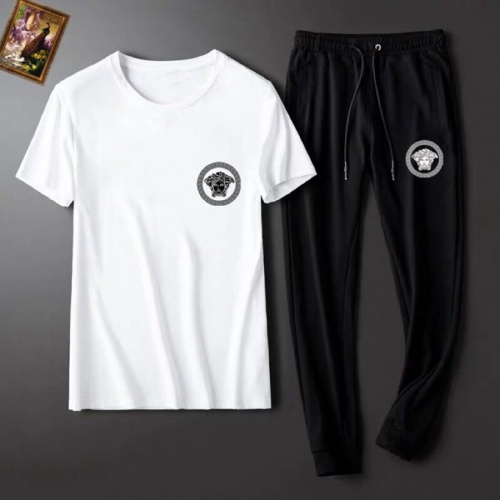 Versace Tracksuits Short Sleeved For Men #860595