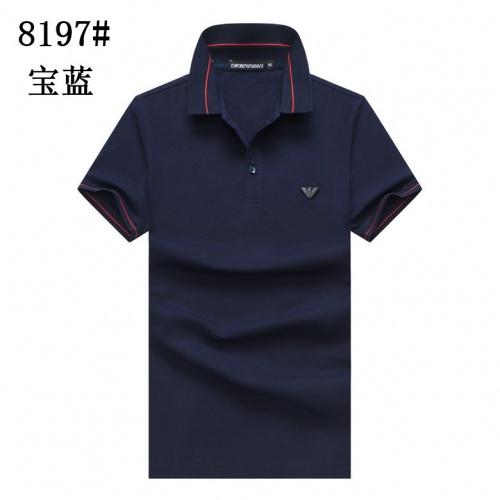 Armani T-Shirts Short Sleeved For Men #860696