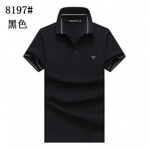 Armani T-Shirts Short Sleeved For Men #860697