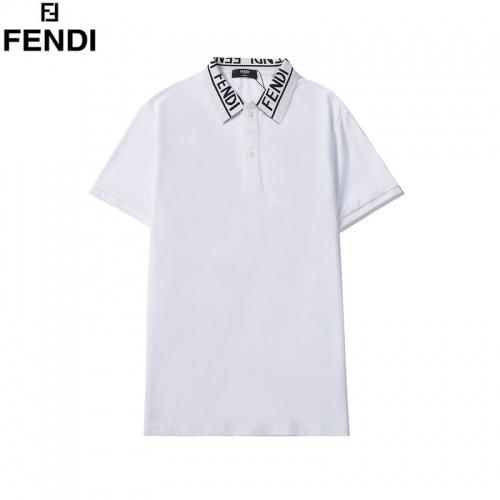 Fendi T-Shirts Short Sleeved For Men #860779