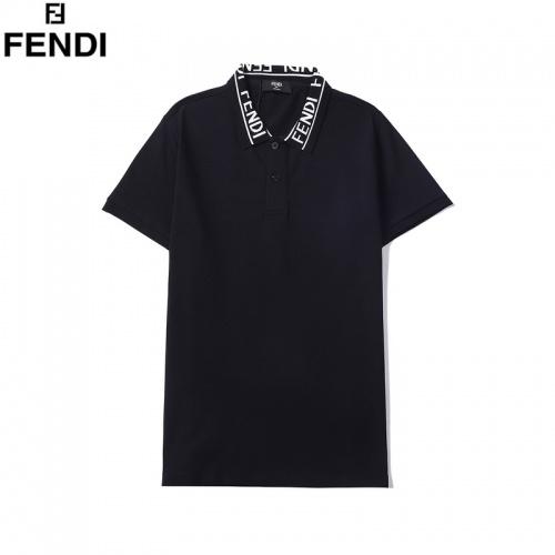 Fendi T-Shirts Short Sleeved For Men #860780