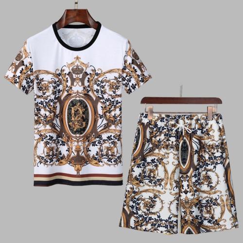 Dolce & Gabbana D&G Tracksuits Short Sleeved For Men #860794