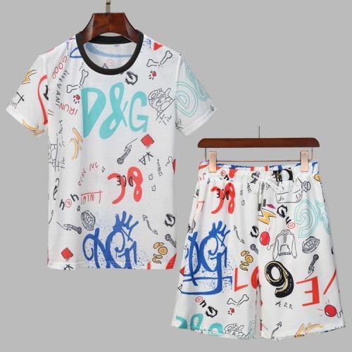 Dolce & Gabbana D&G Tracksuits Short Sleeved For Men #860795