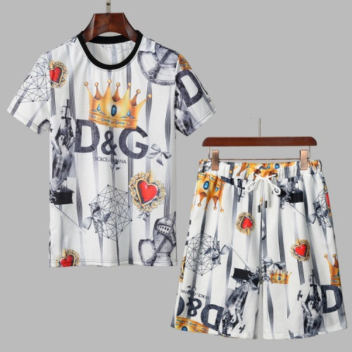Dolce & Gabbana D&G Tracksuits Short Sleeved For Men #860797