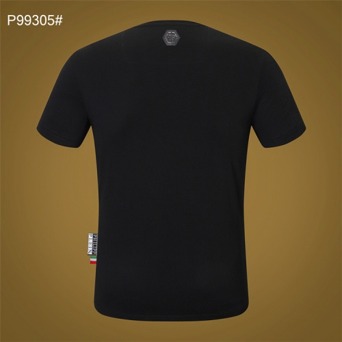 Replica Philipp Plein PP T-Shirts Short Sleeved For Men #860921 $28.00 USD for Wholesale