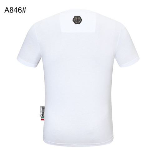 Replica Philipp Plein PP T-Shirts Short Sleeved For Men #860923 $28.00 USD for Wholesale