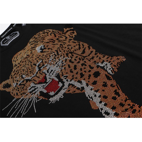 Replica Philipp Plein PP T-Shirts Short Sleeved For Men #860929 $28.00 USD for Wholesale