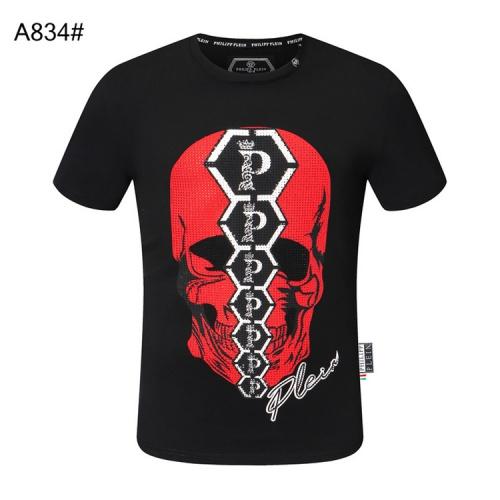 Philipp Plein PP T-Shirts Short Sleeved For Men #860932 $28.00 USD, Wholesale Replica Philipp Plein PP T-Shirts