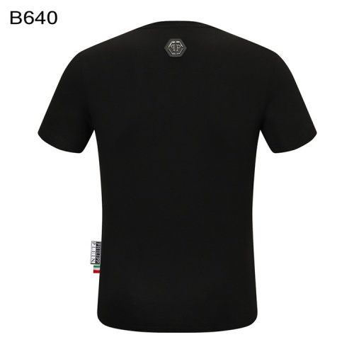 Replica Philipp Plein PP T-Shirts Short Sleeved For Men #860934 $28.00 USD for Wholesale