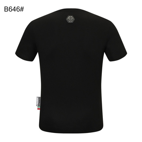 Replica Philipp Plein PP T-Shirts Short Sleeved For Men #860936 $28.00 USD for Wholesale