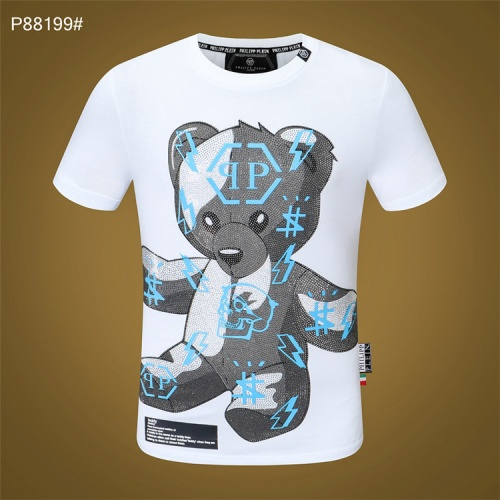 Philipp Plein PP T-Shirts Short Sleeved For Men #860940 $28.00 USD, Wholesale Replica Philipp Plein PP T-Shirts
