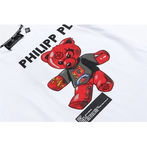 Replica Philipp Plein PP T-Shirts Short Sleeved For Men #860942 $28.00 USD for Wholesale