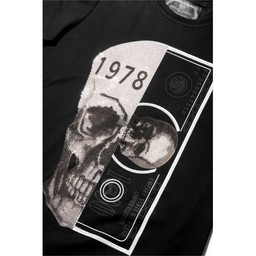 Replica Philipp Plein PP T-Shirts Short Sleeved For Men #860944 $28.00 USD for Wholesale