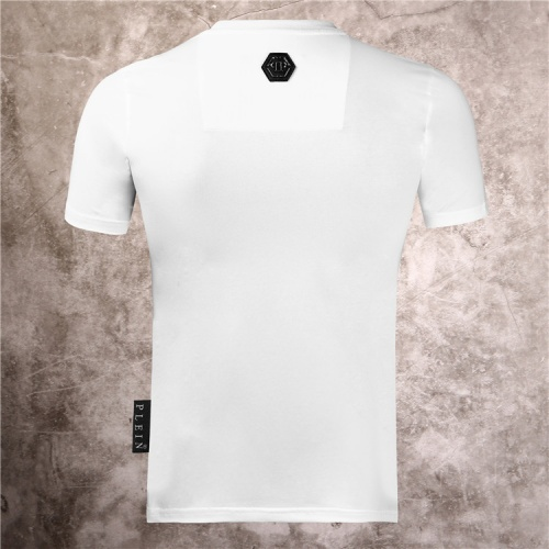 Replica Philipp Plein PP T-Shirts Short Sleeved For Men #860945 $28.00 USD for Wholesale