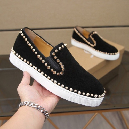 Replica Christian Louboutin Fashion Shoes For Men #860991 $76.00 USD for Wholesale