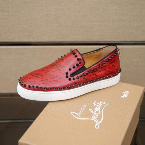 Replica Christian Louboutin Fashion Shoes For Men #860992 $80.00 USD for Wholesale