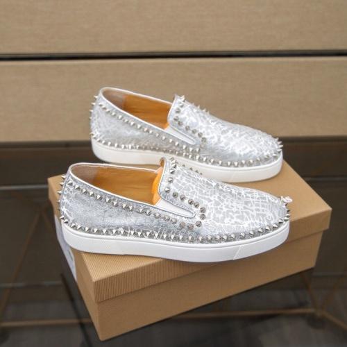 Christian Louboutin Fashion Shoes For Men #860993 $80.00 USD, Wholesale Replica Christian Louboutin Fashion Shoes