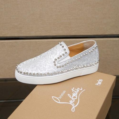 Replica Christian Louboutin Fashion Shoes For Men #860993 $80.00 USD for Wholesale