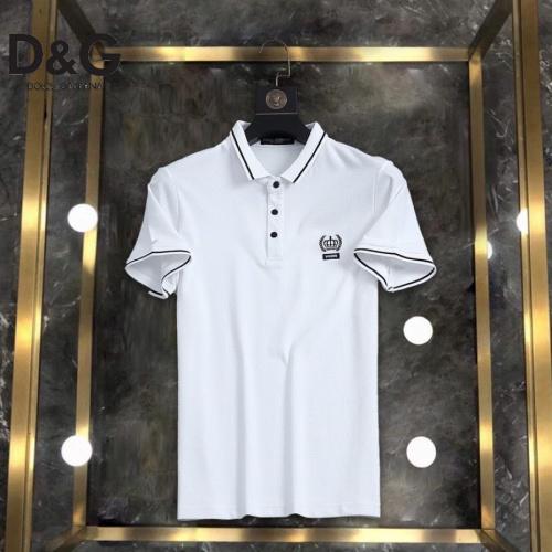 Dolce & Gabbana D&G T-Shirts Short Sleeved For Men #861208