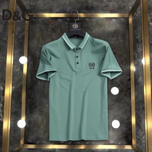 Dolce & Gabbana D&G T-Shirts Short Sleeved For Men #861209