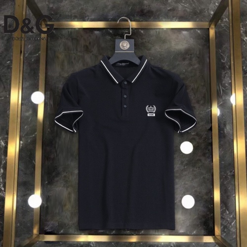 Dolce & Gabbana D&G T-Shirts Short Sleeved For Men #861210