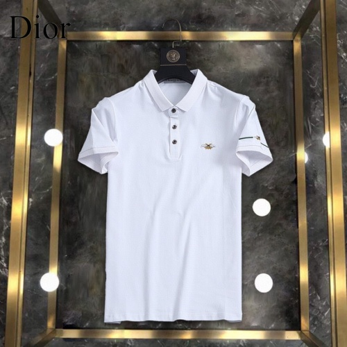 Christian Dior T-Shirts Short Sleeved For Men #861224