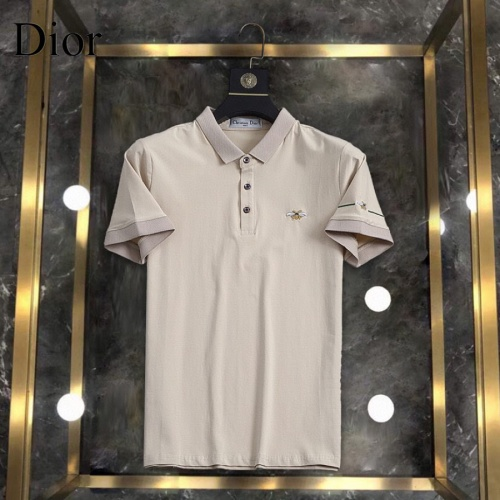 Christian Dior T-Shirts Short Sleeved For Men #861225