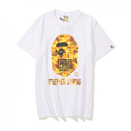 Bape T-Shirts Short Sleeved For Men #861341