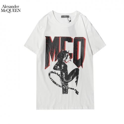 Alexander McQueen T-shirts Short Sleeved For Men #861379