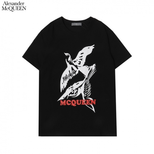 Alexander McQueen T-shirts Short Sleeved For Men #861383