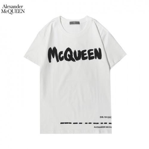Alexander McQueen T-shirts Short Sleeved For Men #861392