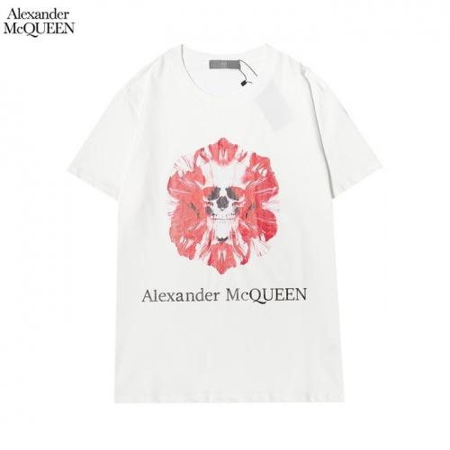 Alexander McQueen T-shirts Short Sleeved For Men #861395