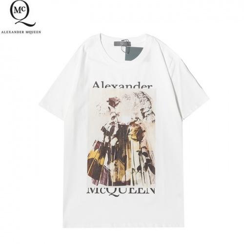 Alexander McQueen T-shirts Short Sleeved For Men #861397