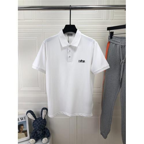 Christian Dior T-Shirts Short Sleeved For Men #861436