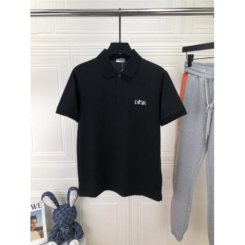 Christian Dior T-Shirts Short Sleeved For Men #861437