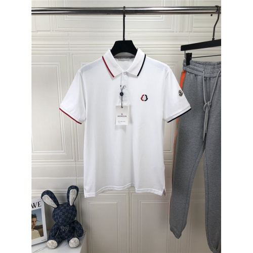 Moncler T-Shirts Short Sleeved For Men #861440