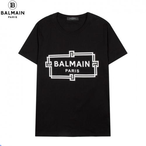 Balmain T-Shirts Short Sleeved For Men #861443