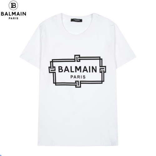 Balmain T-Shirts Short Sleeved For Men #861444